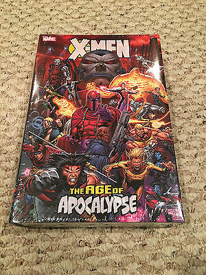 X-Men Age of Apocalypse Hardcover HC Omnibus - FIRST PRINT RARE OOP - sealed