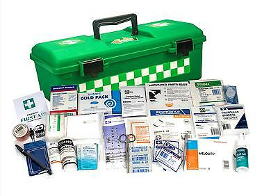 UFirst First Aid Kit : National C Small Workplace in Portable Plastic Case