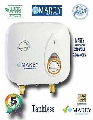 Marey PP220 Electric Tankless Water Heater 3 GPM 220V Best Tiny House