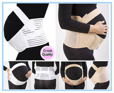 DELUXE MATERNITY SUPPORT BAND Abdomen & Back Brace Pregnancy Belly Tummy Belt