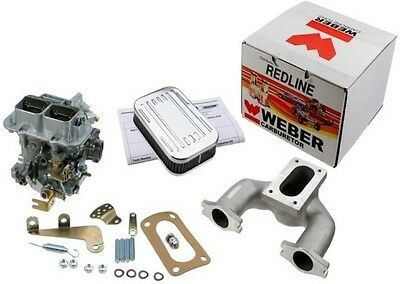 Weber Carburetor KIT AUSTIN MINI MG MIDGET 948 1098 1275 Manual Choke 32/36 DGV