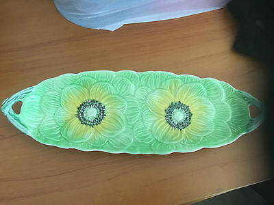 Vintage Staffordshire Shortner And Sons  Hand Panited Plate England