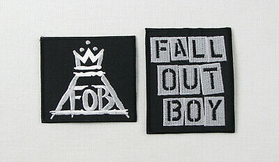 FALL OUT BOY Iron On/Sew On Patch Rock heavy metal 2 Designs FOB