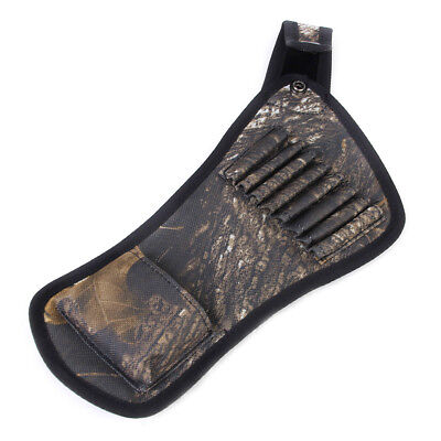Camo Archery Arrow 8-Tube Belt Holder Quiver Bag Pouch Outdoor Hunting Sport