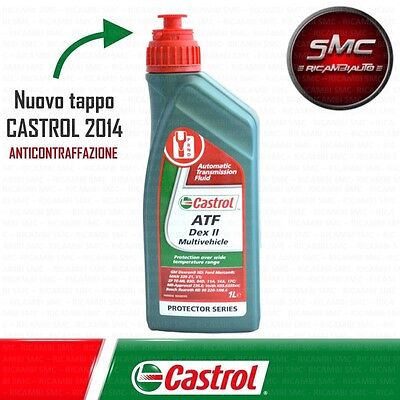 Olio Originale Castrol Atf Idroguida Dex Ii Multiveicle Temperature Wide Range