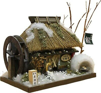 "Japanese Miniature House Kit ""Thatched Roof House / Strohdachhaus"" -4 Seasons-"