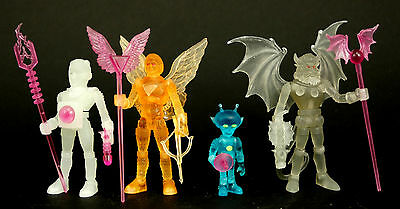 Colorforms Outer Space Men 2011 Sdcc Exclusive Mint Set Glow In The Dar Electron