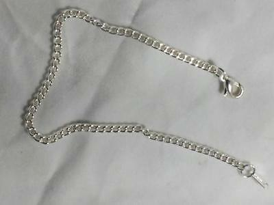 Snake Silver plated bracelet, non tarnish .925 silver, 8 inches