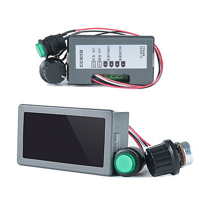 DC 6-30V 12V 24V 8A PWM Motor Speed Controller With Digital Display & Switch FO