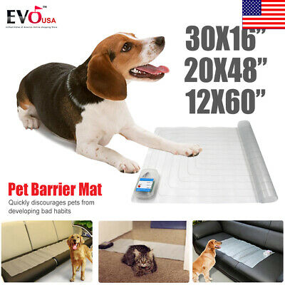 Electronic Indoor Pet Training Dog Cat Barrier Repellent Shock Scat Mat Pad New