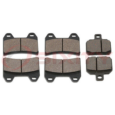 Front + Rear Ceramic Brake Pads 2000-2001 Ducati 900 Set Full Kit Supersport lv