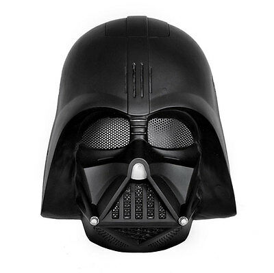 Airsoft CS Paintball Mask Fiber Resin Protection Cosplay Star Wars Mask Black