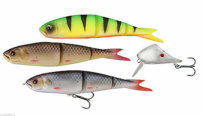 Savage Gear Soft 4Play 9.5/13/19cm Lip Skull 3+1 Kits*NEW COLOURS* Pike Lures