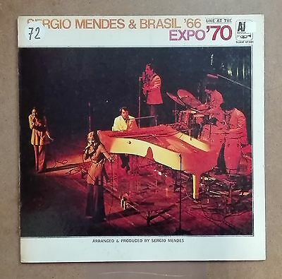 40259 LP 33 giri - Sergio Mendes & Brasil '66 - Live at the Expo '70 - A&M 1970