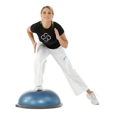 BOSU Ball Balancetrainer Gymnastikall Fitnessball Koordination Home Fitness +DVD