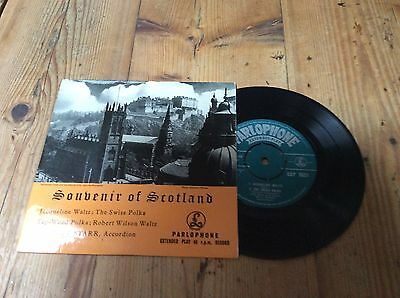 will starr-souvenir of scotland-parlophone e.p.mint