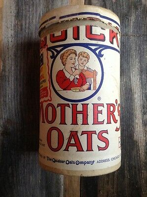 Vintage Mother's Oats / Rare Advertising / The Quaker Oats Company