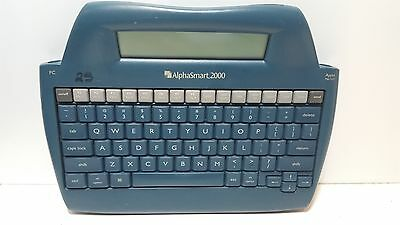 AlphaSmart 2000 Personal Portable Word Processor Keyboard