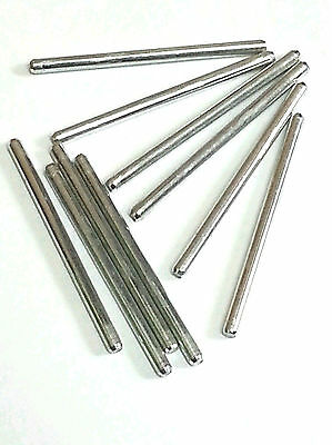 10 pcs 2.5 x 40mm Steel Shaft For DIY Car Toy Model Gear Robot Ships from USA