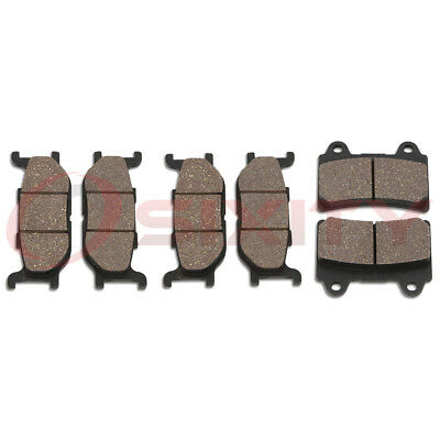 Front + Rear Organic Brake Pads 1999-2003 Yamaha XV1600A Road Star Set Full vc
