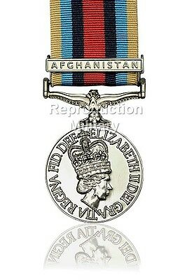 Full Size Operational Service Medal With Afghanistan Clasp OSM