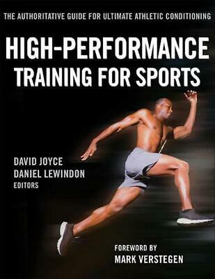 High-Performance Training for Sports by David Joyce Paperback Book (English)