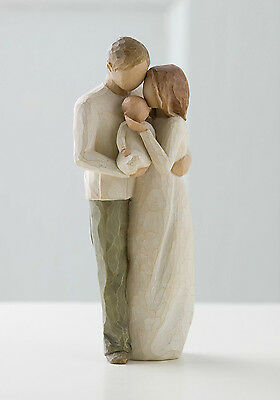 Willow Tree Figurine - Our Gift, 26181, Free P&P, Ideal New Baby Gift