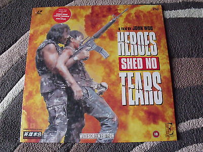 Heroes Shed No Tears Laserdisc Pal 1 Ld Ee 1082 Brand New Sealed