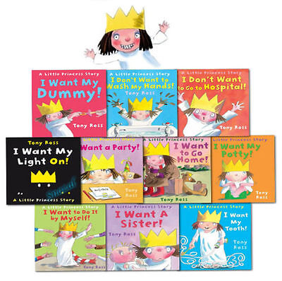 A Little Princess Story Collection Tony Ross 10 Books Set
