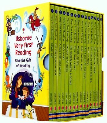 Read at home NEW - Usborne Very First Reading 16 Books Collection Set