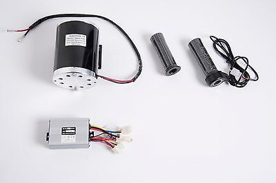 1000 W 48V DC 1020 electric motor kit w BASE control box & Throttle f scooter