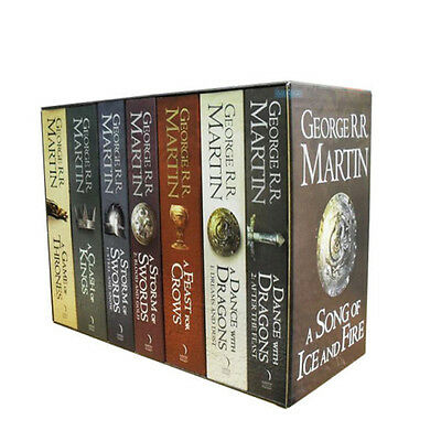 A Game of Thrones Box Set Song of Ice and Fire 7 Books Collection Volume 1 to 5