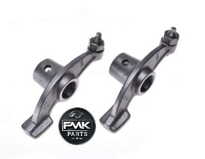New Rocker Arms PAIR with Adjusters Nuts for Suzuki GN125 GZ125 GS125 DR125