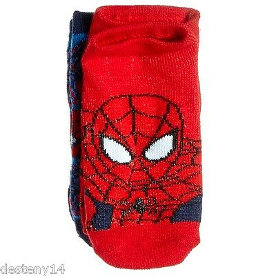Marvel Spider-Man Baby Toddler Boy's Socks 3 Pair Size 18-24 Months NWT