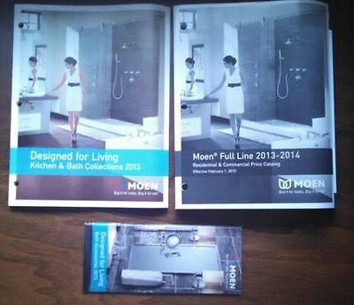 Moen Designed For Living Catalog, Accessories Pamphlet and Price Catalog 2013/14