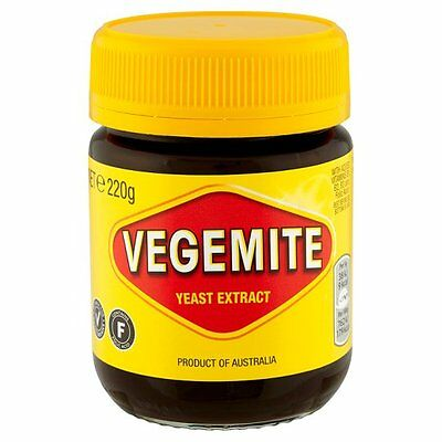 Kraft Vegemite Yeast Extract 220g - Sold Worldwide from UK