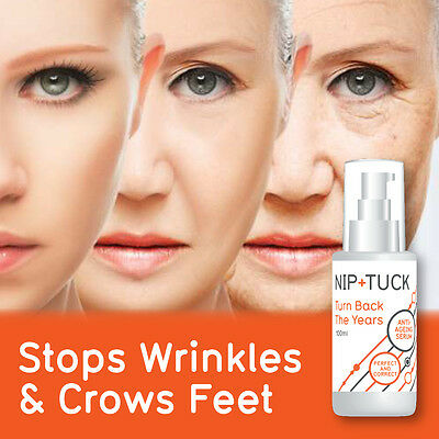 Nip & Tuck Turn Back The Years Anti Ageing Serum – No Need Face Lift
