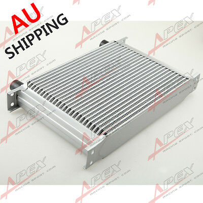 25 Row AN10 -10AN AN-10 10AN Engine Transmission Oil Cooler Universal AU STOCK