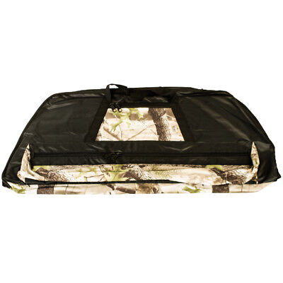 Apex Hunting Deluxe Bow Bag - Black with Camo Trim - Compound Bow Carrier
