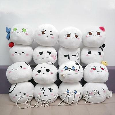 "10""x9"" Axis Powers Hetalia Plush Country Character Mochi Toy Pillow Cushion"