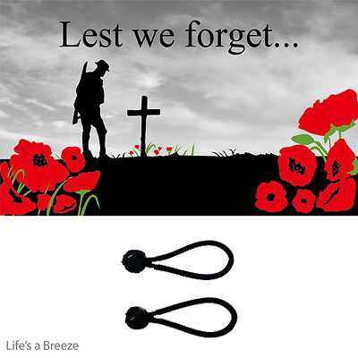 Remembrance Flag Lest We Forget POPPY 5x3Ft Flag. With Free Ball Ties