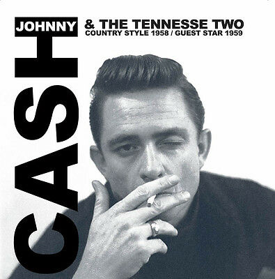 JOHNNY CASH & THE TENNESSEE TWO-Country Style '58/Guest Star '59. New LP sealed