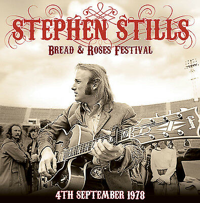 STEPHEN STILLS - Live At The Bread And Roses Festival 4 Sep '78. New 2LP sealed