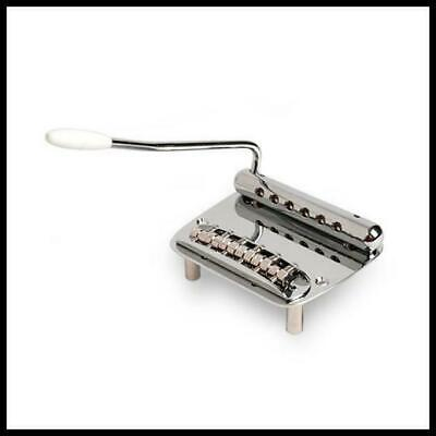 Golden Age Bridge and Tremolo for Mustang - steel pivoting bridge Spring Tremolo
