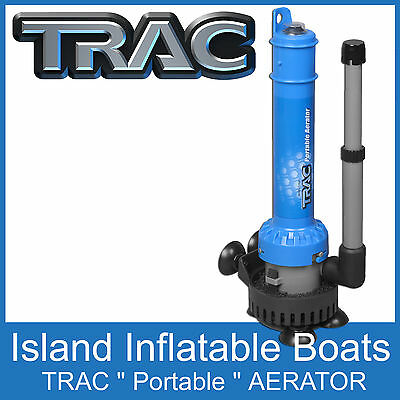 TRAC Portable Aerator Pump Submersible Livewell Live Bait Tank Pump Easy to Use