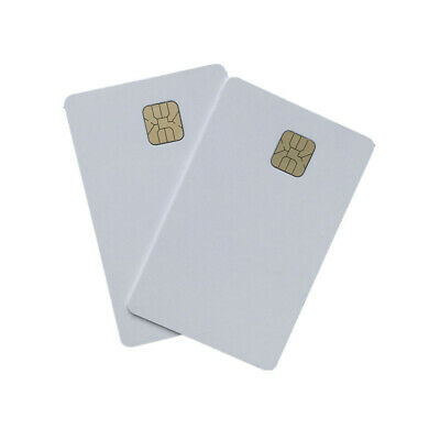 100X Contact Ic Card Smart Inkjet PVC Card with 4428 Chip Printable by Inkjet