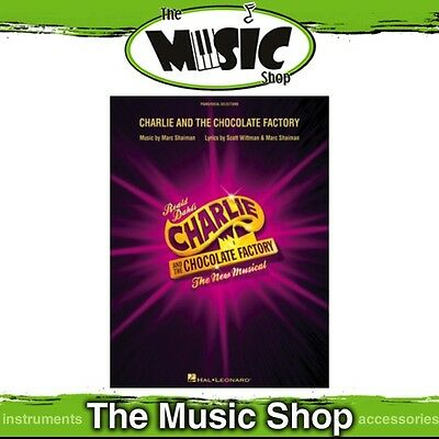 Charlie & the Chocolate Factory the Musical Vocal & Piano Selections Music Book