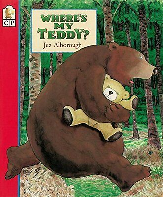Where's My Teddy? by Jez Alborough (1994, Paperback)