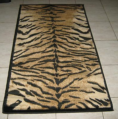 New Animal Print Heatset Hallway Runner Themed Rug 80X150Cm Floor Rug