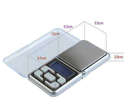 High Precision Pocket 200g/0.01g Digital Jewelry Gold Gram Balance Weight Scale